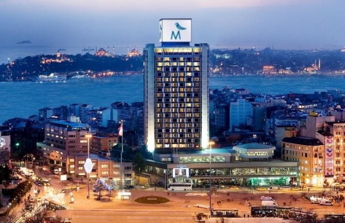 The Marmara Hotel'e dava açılıyor