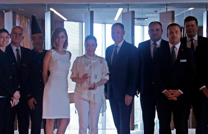 Wyndham Grand İstanbul'a anlamlı ödül