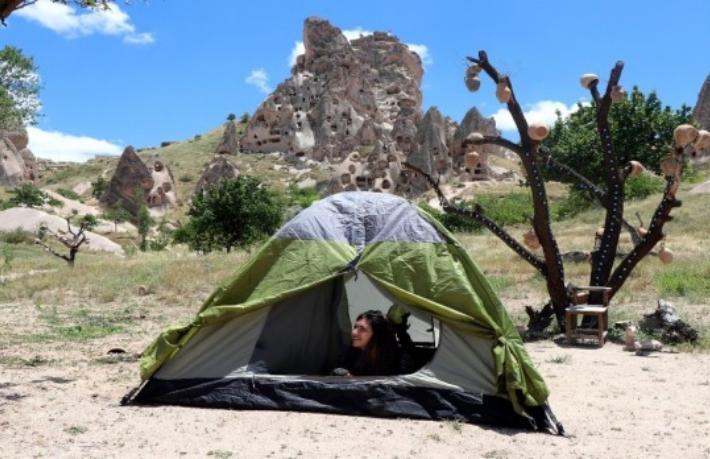 Kapadokya'da balondan sonra çadır festivali düzenlenecek