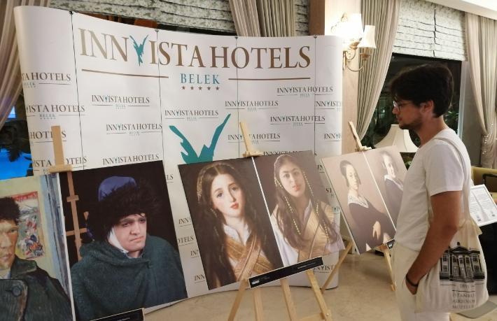 Innvista Hotels'ten örnek sergi