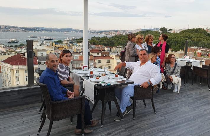 Levni Hotel dünyanın en ünlü blogger'ını ağırladı
