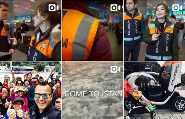 İstanbul Turizm Şube Müdürlüğü'nün instagram hesabı açıldı