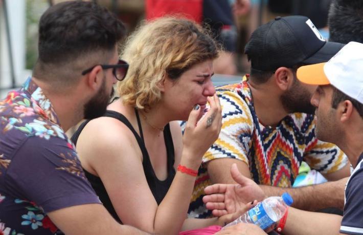 Türkiye'ye festivale geldiler, ağlayarak geri döndüler