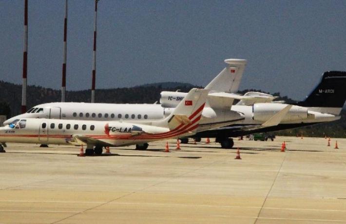 Bodrum'a özel jet akını