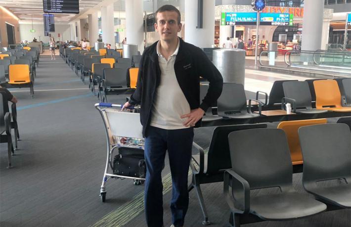 Terminal filmi İstanbul'da gerçek oldu