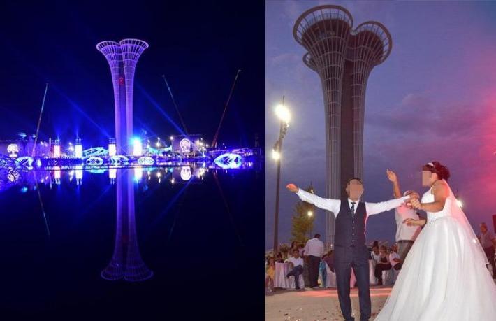 EXPO Antalya düğün salonu oldu