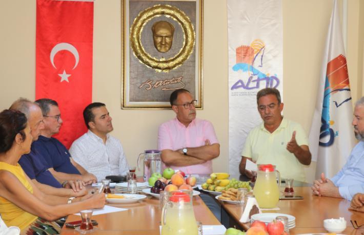 Çetin Osman Budak ALTİD'i ziyaret etti