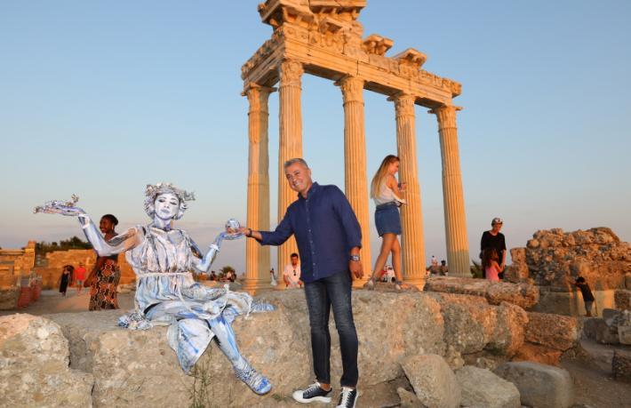 Side'de tarih ve sanat turizmle buluşuyor