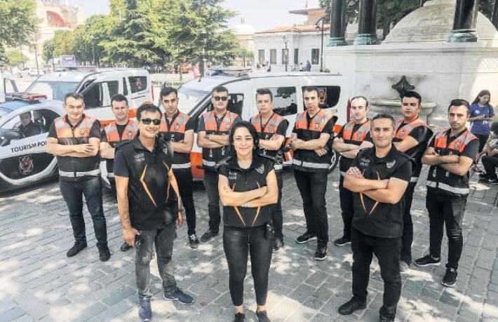 İstanbul'un turistleri emin ellerde