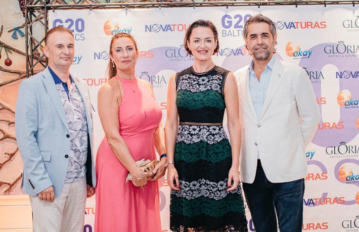 Akay Travel, Baltık pazarının en büyüklerini Antalya'da ağırladı