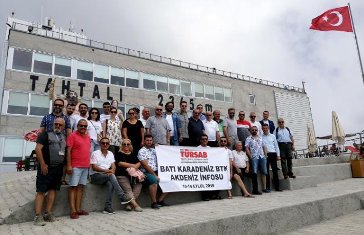 Batı Karadenizli acenteciler Antalya'ya hayran kaldı