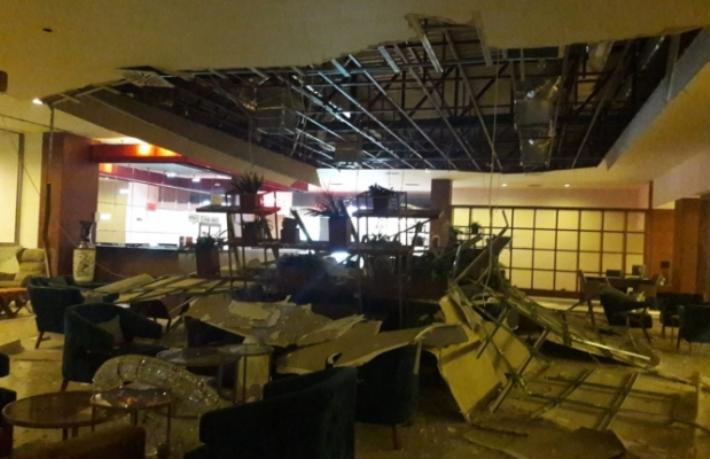 Patlamadan sonra Acapulco Otel'de son durum