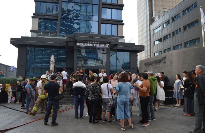 İstanbul'da 5 yıldızlı otelde yangın