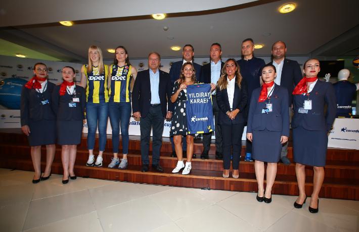 Fenerbahçe, Corendon Airlines ile havalara uçacak