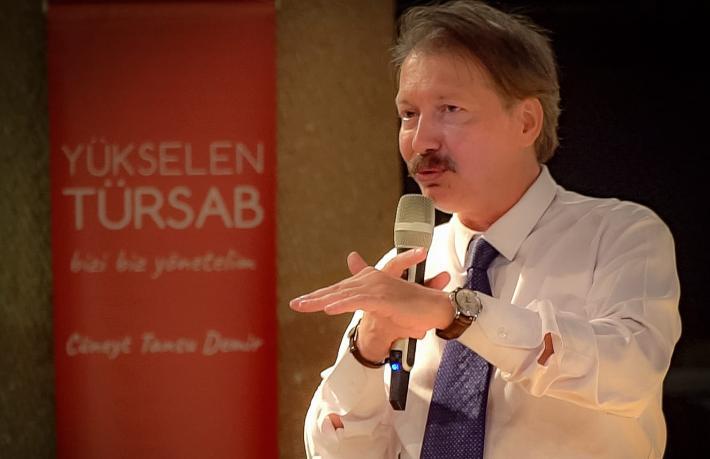 Cüneyt Tansu Demir: TÜRSAB'ta sistemi değiştirmeye talibiz