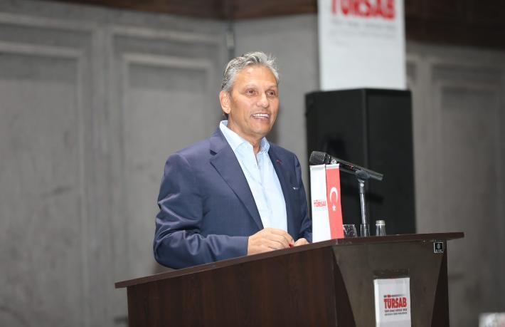 TÜRSAB Başkanı Bağlıkaya Ege'de acentelerle buluştu