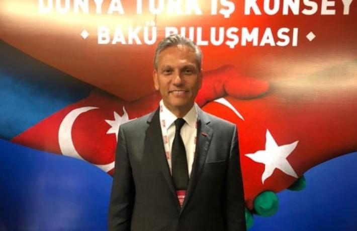 Firuz Bağlıkaya, Dünya Türk İş Konseyi Bakü Buluşması'nda