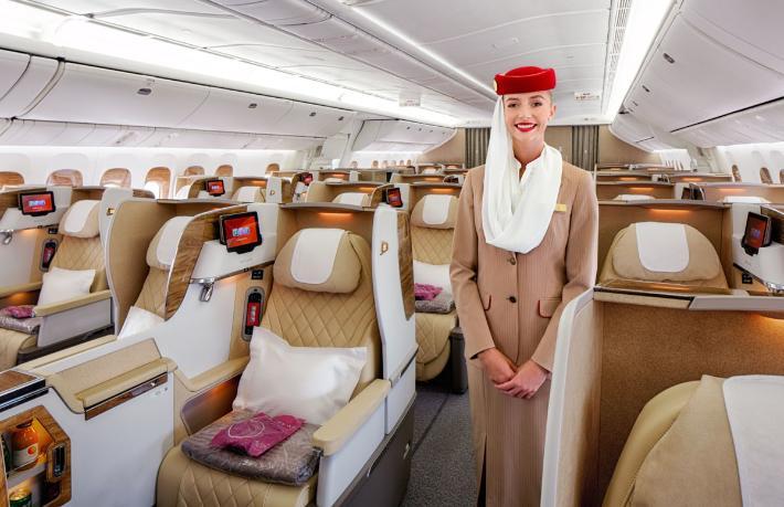 Emirates'le uçtuğuna, uçacağına pişman oldu