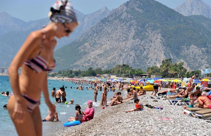 Bir turistin su ayak izi ne kadar?