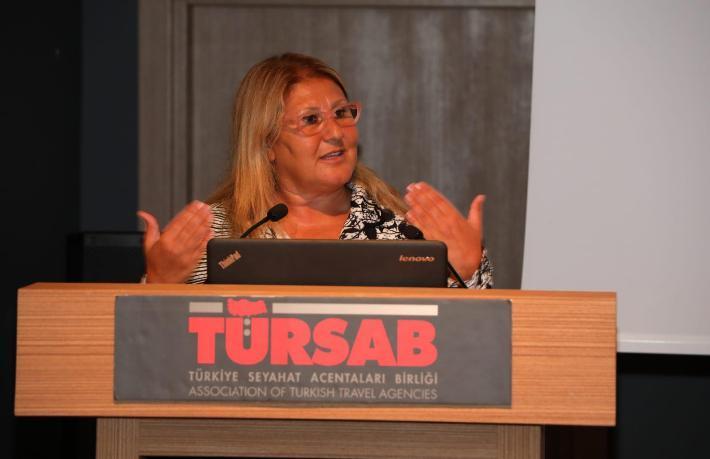 TÜRSAB Şişli BTK Başkanı Aylin Güneşli yeni listesini açıkladı