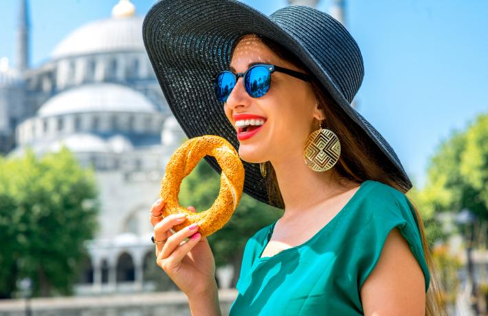 Rus turistten İstanbul sürprizi