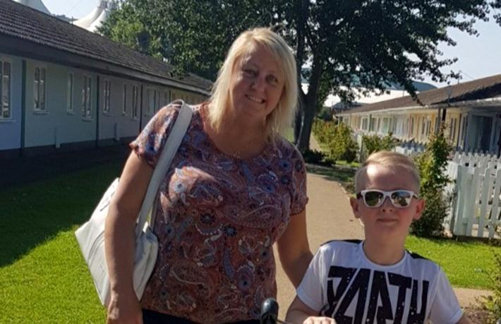 İngiliz hasta ülkesine dönmek için yardım bekliyor