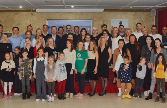 Litvanyalılar Ürgüp'te bir araya geldi