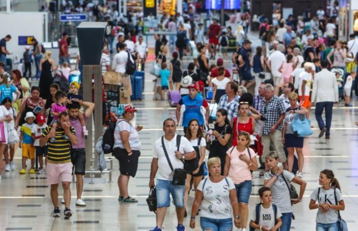 Türkiye 41 milyon yabancı ziyaretçi ağırladı