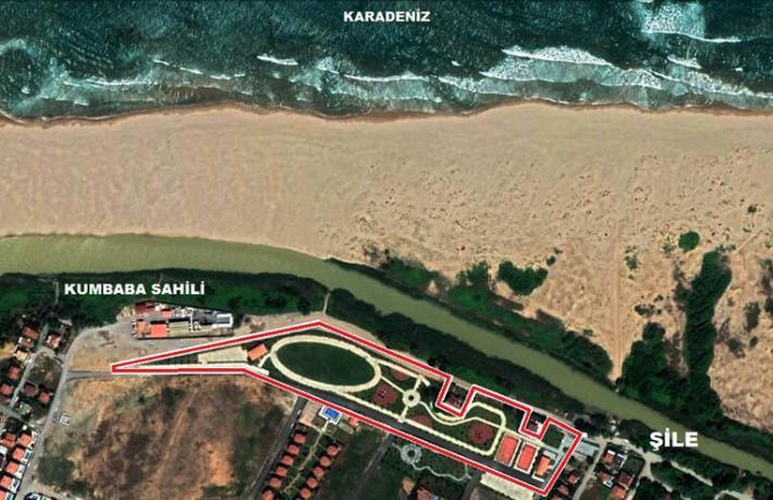Ünlü sahilin parkı ihtiyaçtan satılık