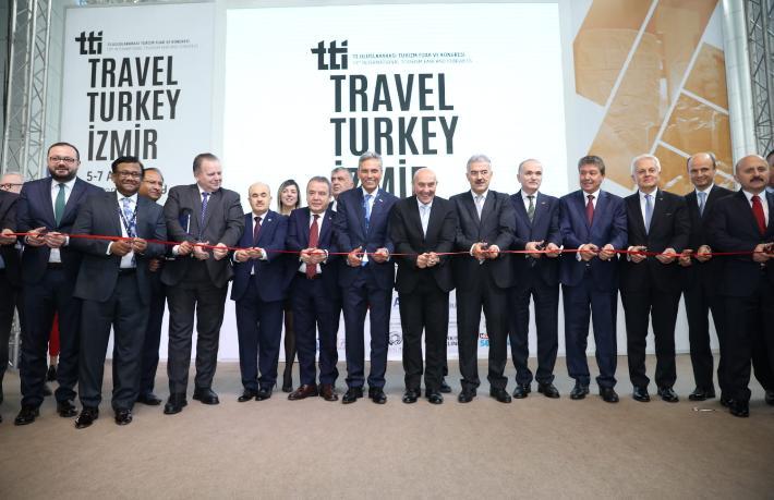 Travel Turkey İzmir Fuarı başladı