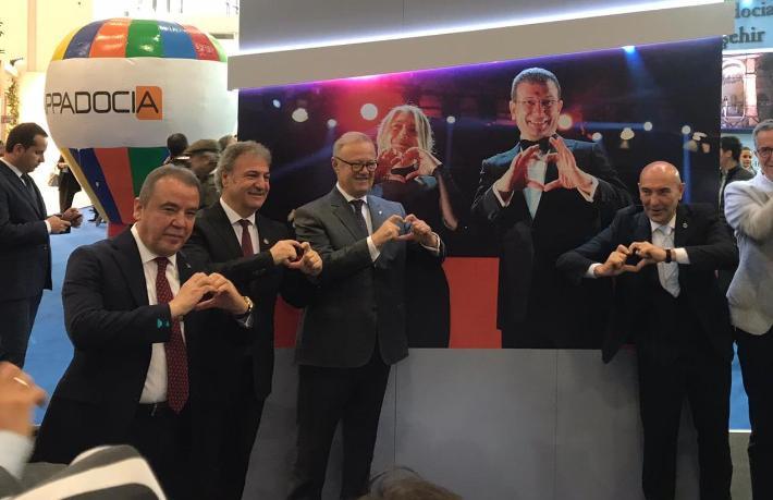 CHP'li başkanlardan İmamoğlu'na kalpli selam
