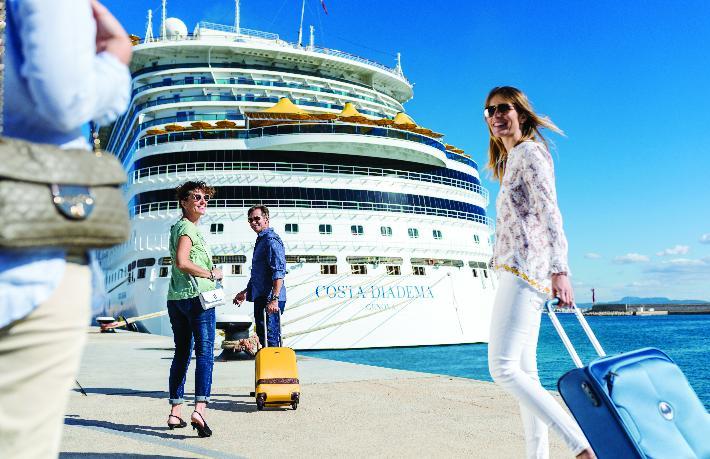 Kruvaziyer turizminden ekonomiye 700 Milyon Dolar katkı
