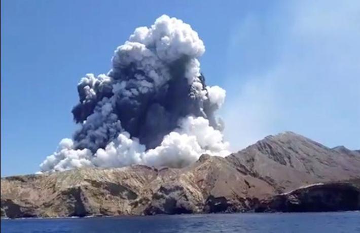 Turistler volkan kurbanı oldu