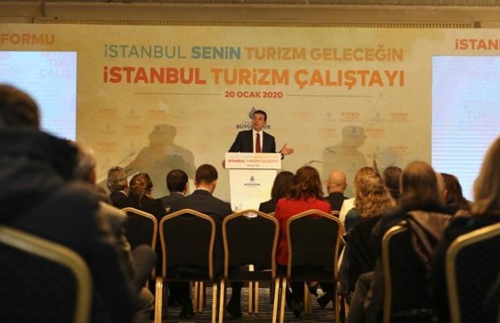 İmamoğlu: İstanbul turizmde bağımsız olarak markalaşmalıdır