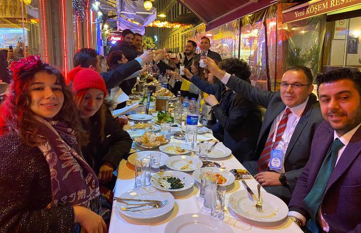 Yabancı MICE acenteleri Kumkapı'da eğlendi