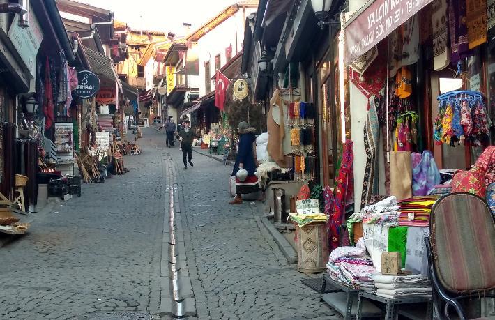 Ankara'da, Samanpazarı Dünyası