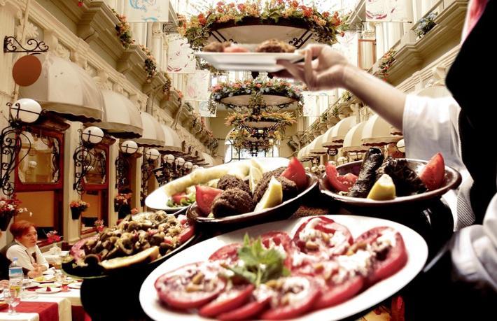 Gastronomi turizminin geliri konaklamanın yarısı kadar