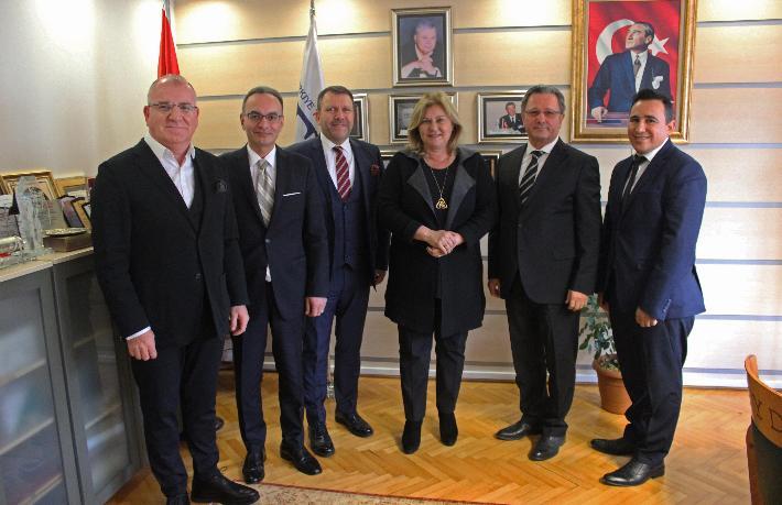 ISTTA'nın yeni yönetiminden TTYD'ye ziyaret
