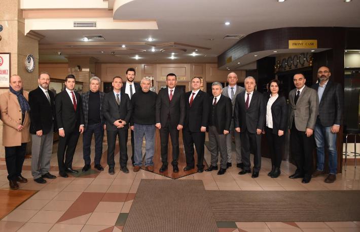 Turizmciler Altındağ Belediye Başkanı Balcı ile buluştu