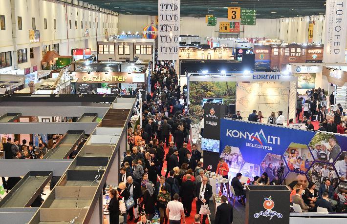 EMITT Turizm Fuarı'nı 44 bin 321 kişi ziyaret etti
