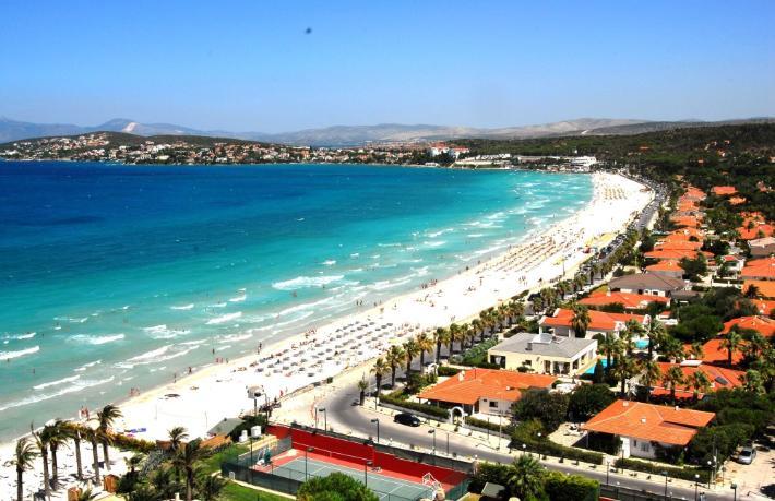 O projedeki otellere sahil tahsis edilmeyecek
