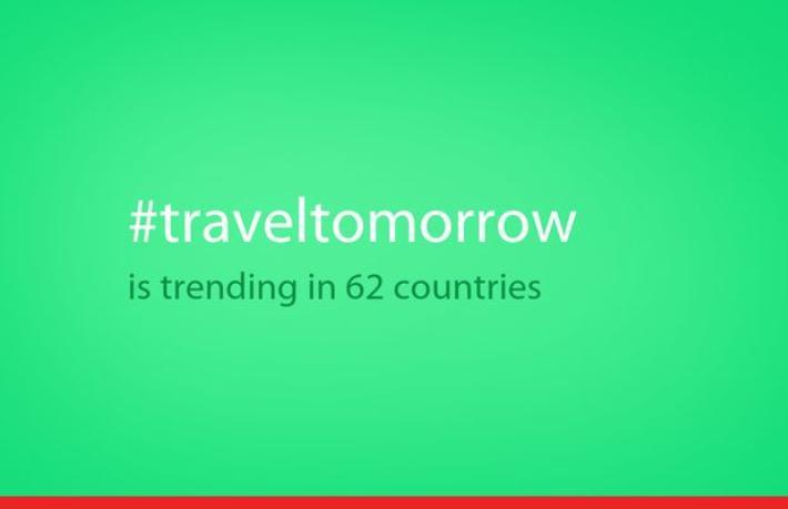 Yarın seyahat etmek için bugün evde kal