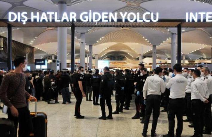 İstanbul Havalimanı'nı savaş alanına çeviren yabancılar Karabük'e gönderildi