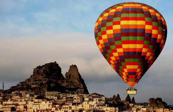 Turizm devi HIS, Kapadokya'da balonculuk yapacak