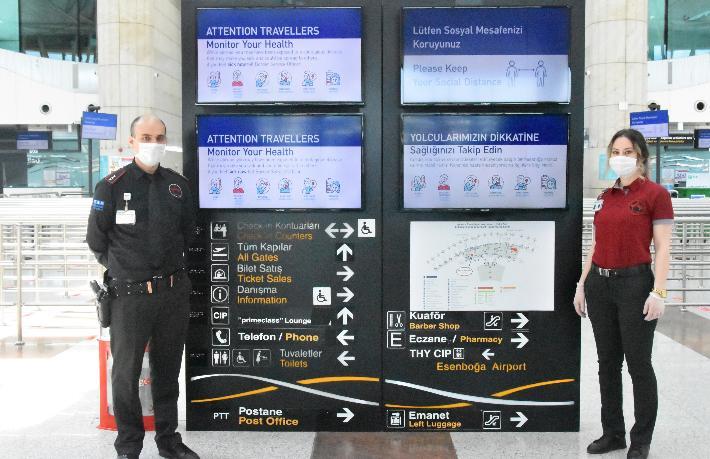 TAV havalimanlarında hazırlıkları tamamladı