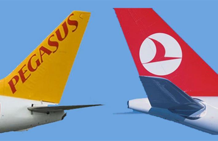 THY ve Pegasus'un uçuş yapacağı ilk tarih ve yer