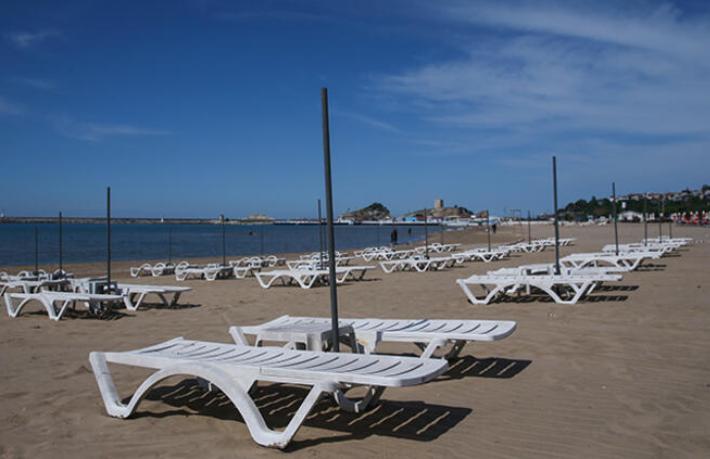 İstanbul plajları da sezonu açtı
