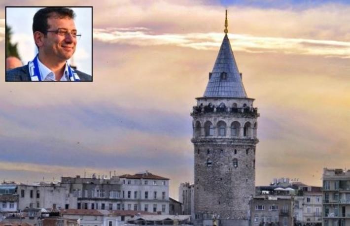 Başkan İmamoğlu: Galata Kulesi'nin alınma çabasına kızgınım
