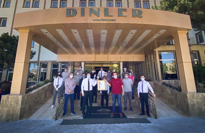 Kapadokya'nın ilk 5 yıldızlı oteline 'Güvenli Turizm Belgesi'