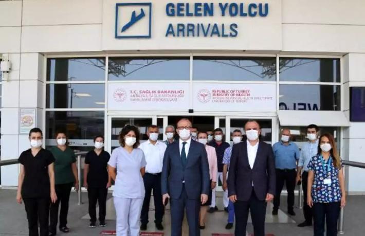 Antalya Havalimanı'nda test merkezi hizmete girdi